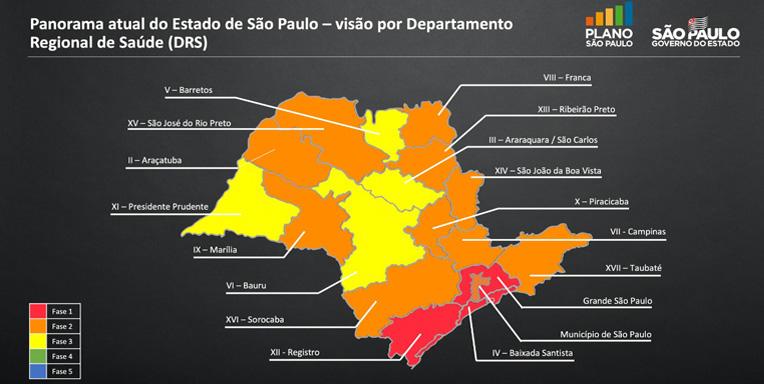 Doria anuncia 'retomada consciente' em São Paulo, confira o que reabre